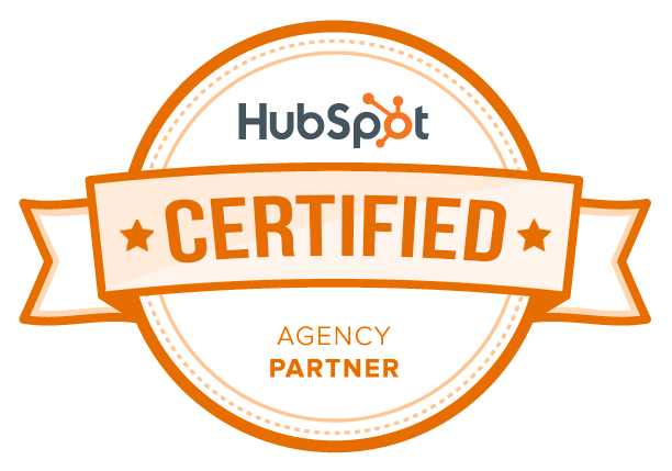 HubSpot Certified Agency Partner badge used to show that Viral Element is a certified HubSpot partner.
